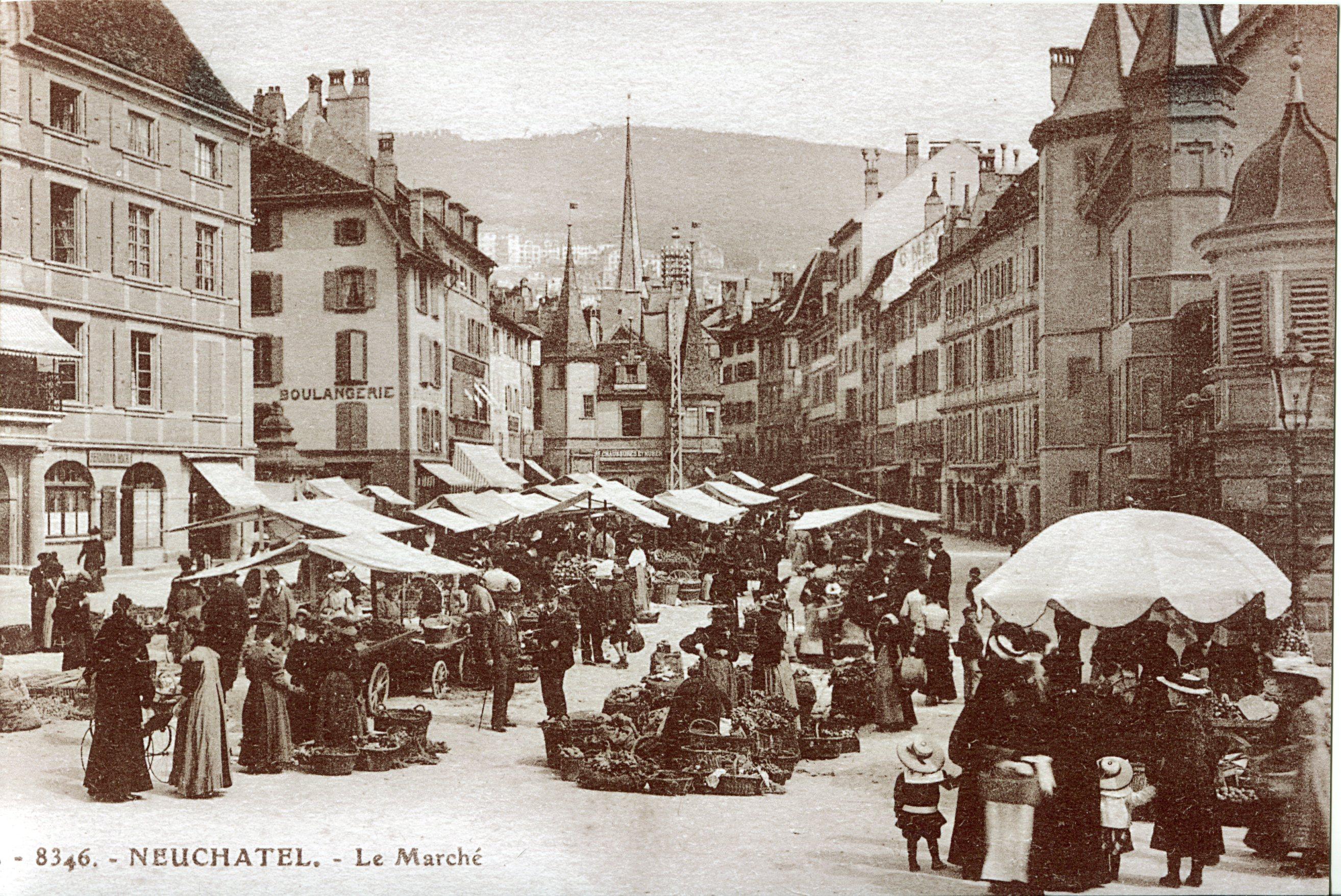 Marché de Neuchâtel 1001