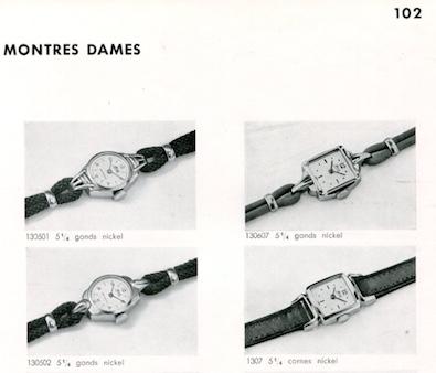 1. Montres dames - Froidevaux