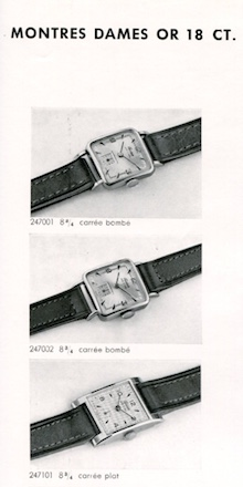 5. Montres dames or - Froidevaux